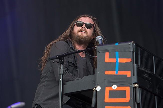 J. Roddy Walston performs at Lollapalooza 2014