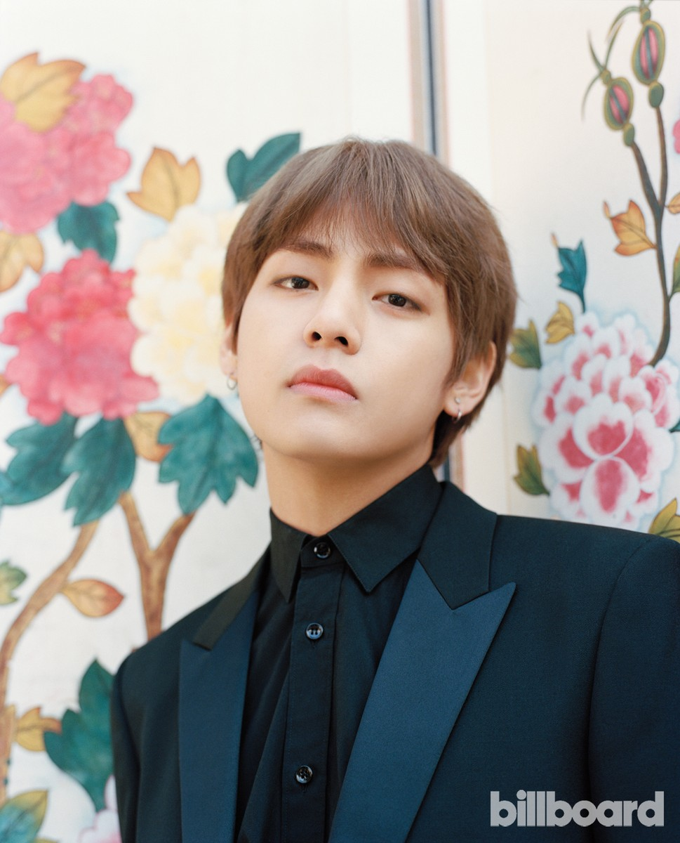 V photographed on Jan. 19, 2018 at Korea House in Seoul.