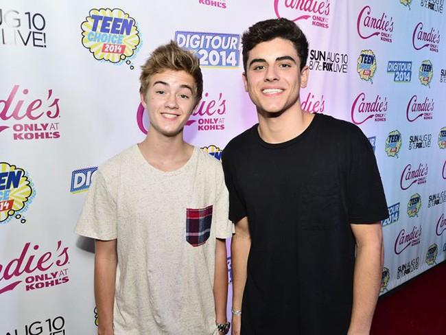 Jack & Jack at the Teen Choice Awards