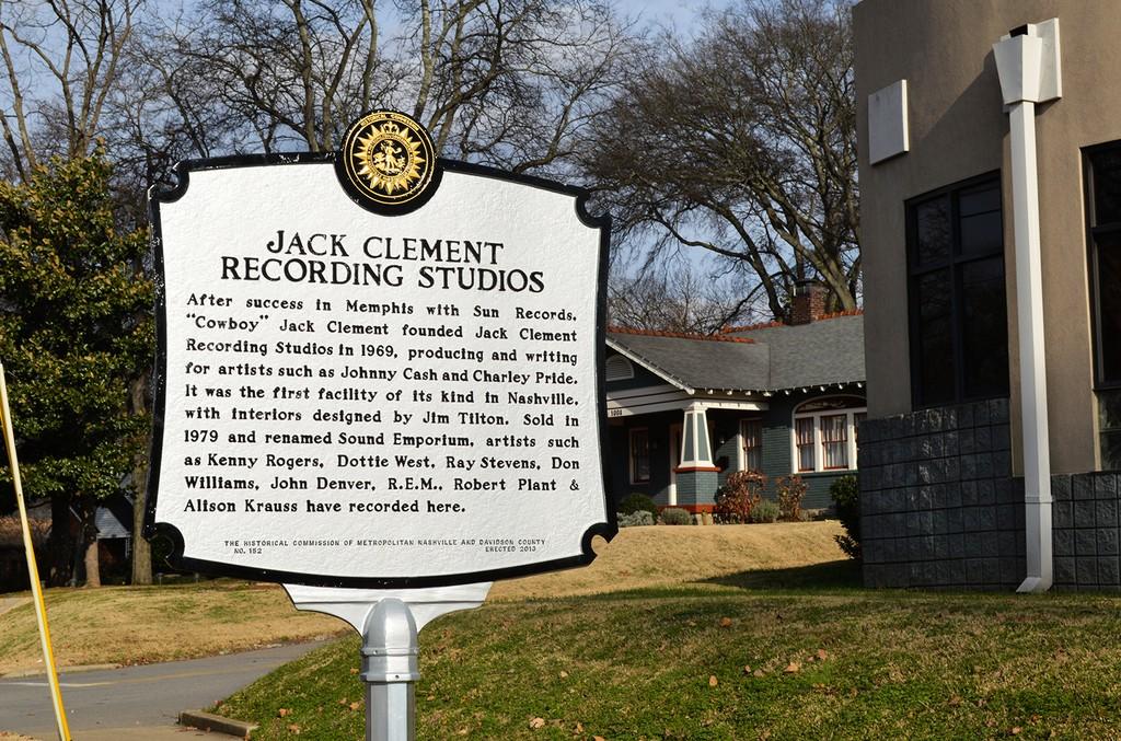 Jack Clement Recording Studio