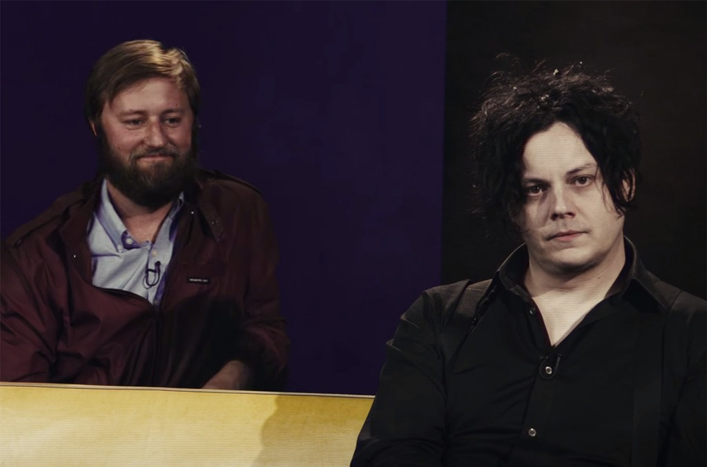 Jack White on Rory Scovel's stand-up special on Netflix.
