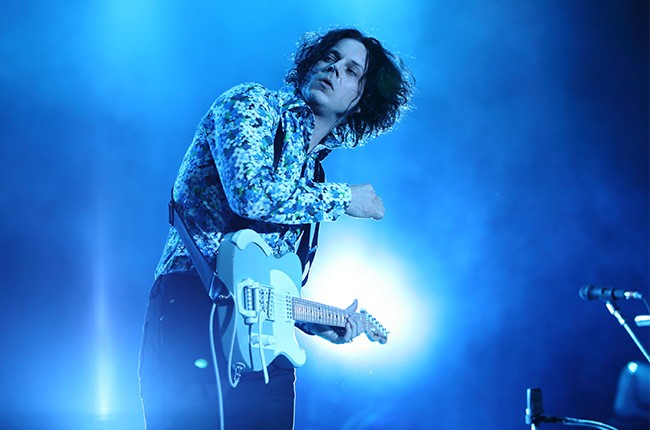 Jack White performs at Governors Ball 2014