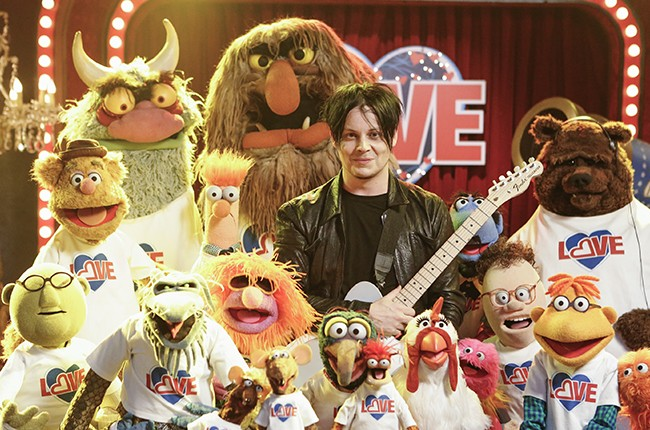 Jack White the muppets