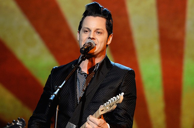Jack White performs onstage at the 25th anniversary MusiCares 2015 Person Of The Year Gala