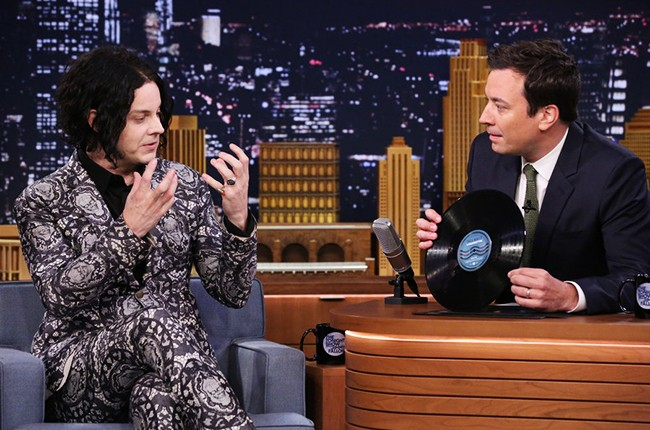 Jack White on the The Tonight Show