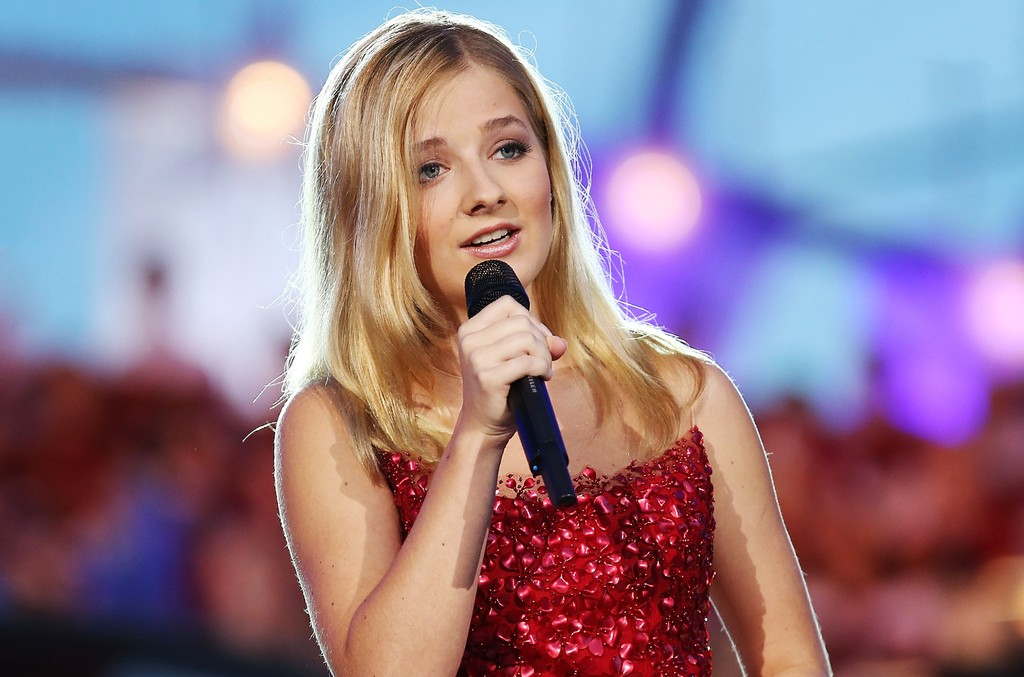 Jackie Evancho performs during A Capitol Fourth - Rehearsals at U.S. Capitol, West Lawn, on July 3, 2016 in Washington, D.C.