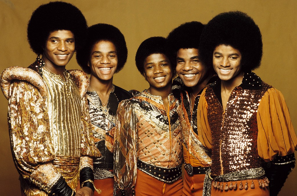 The Jackson 5 photographed in 1977
