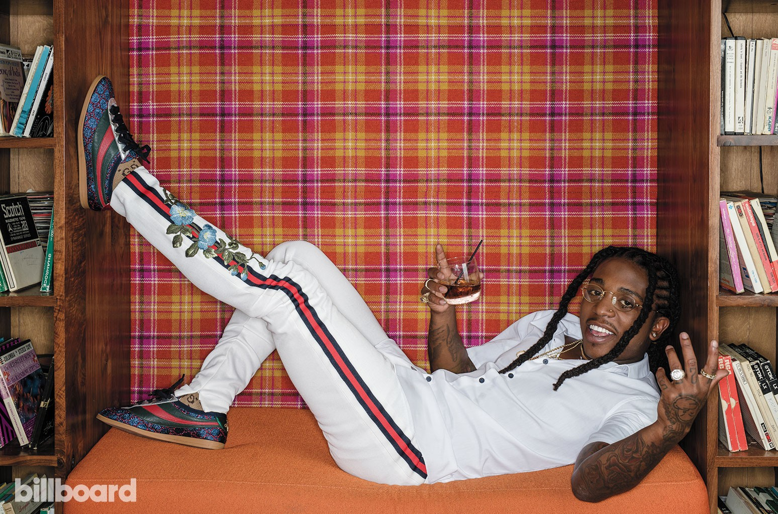 Jacquees photographed on Sept. 21, 2017 at BeetleCat in Atlanta.