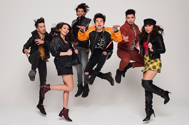 JAGMAC Disney's Next Big Thing CJ, Alyssa, Manjo, Jared, Gabriel, Angelique Patalinghug