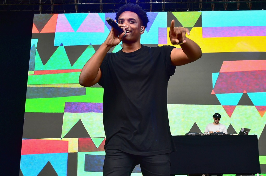 Jahkoy performs during the 2016 Billboard Hot 100 Festival