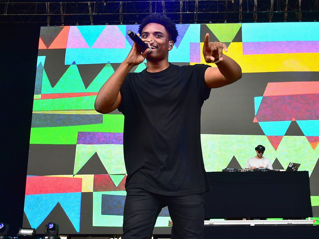 JAHKOY performs at the 2016 Billboard Hot 100 Festival