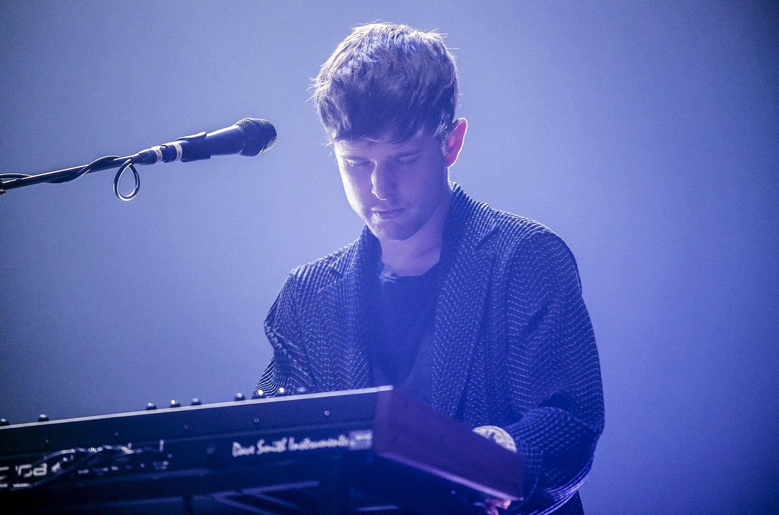 James Blake performs in 2016