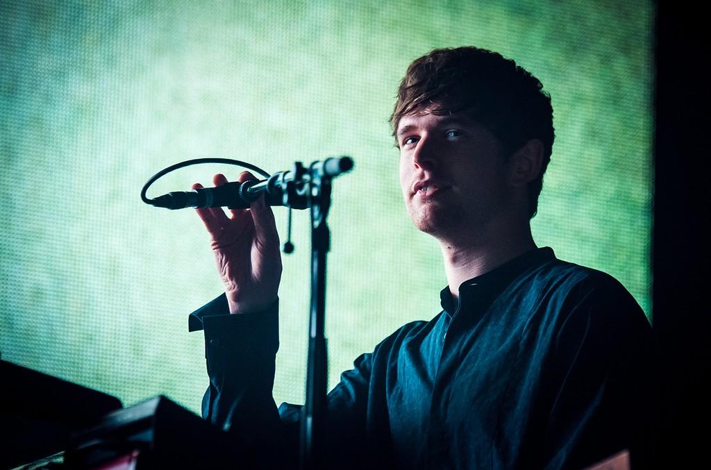 James Blake performs at Eventim Apollo on Nov. 1, 2016 in London.