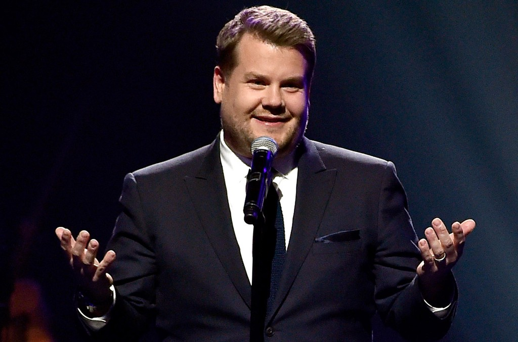 James Corden performs at the MGM Grand Garden