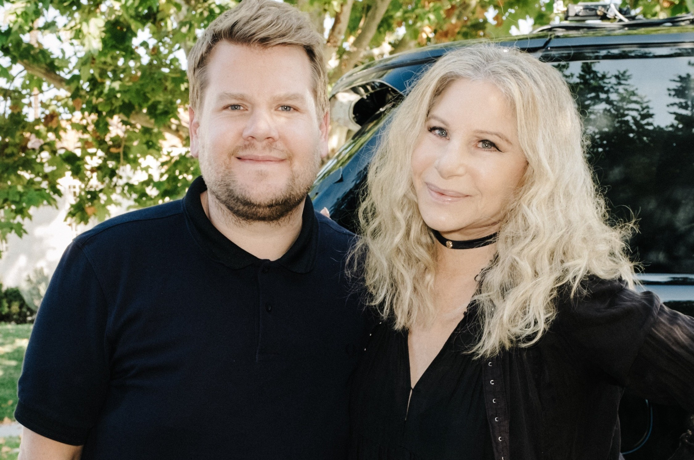 "Barbra Streisand joins James Corden for ""Carpool Karaoke"" on ""The Late Late Show""."
