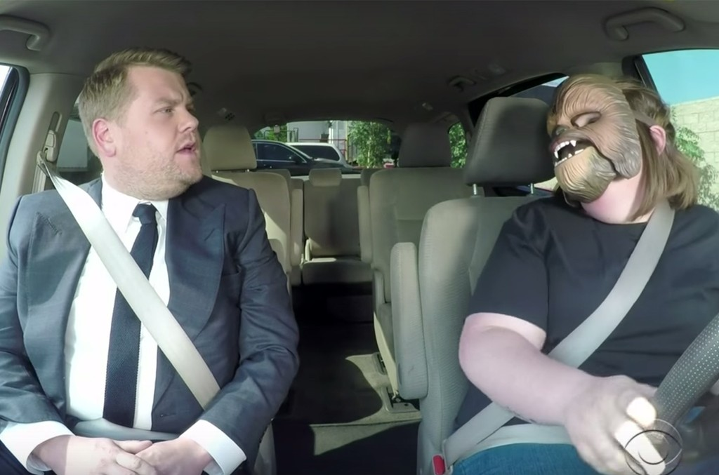 Chewbacca Mom on The Late Late Show with James Corden
