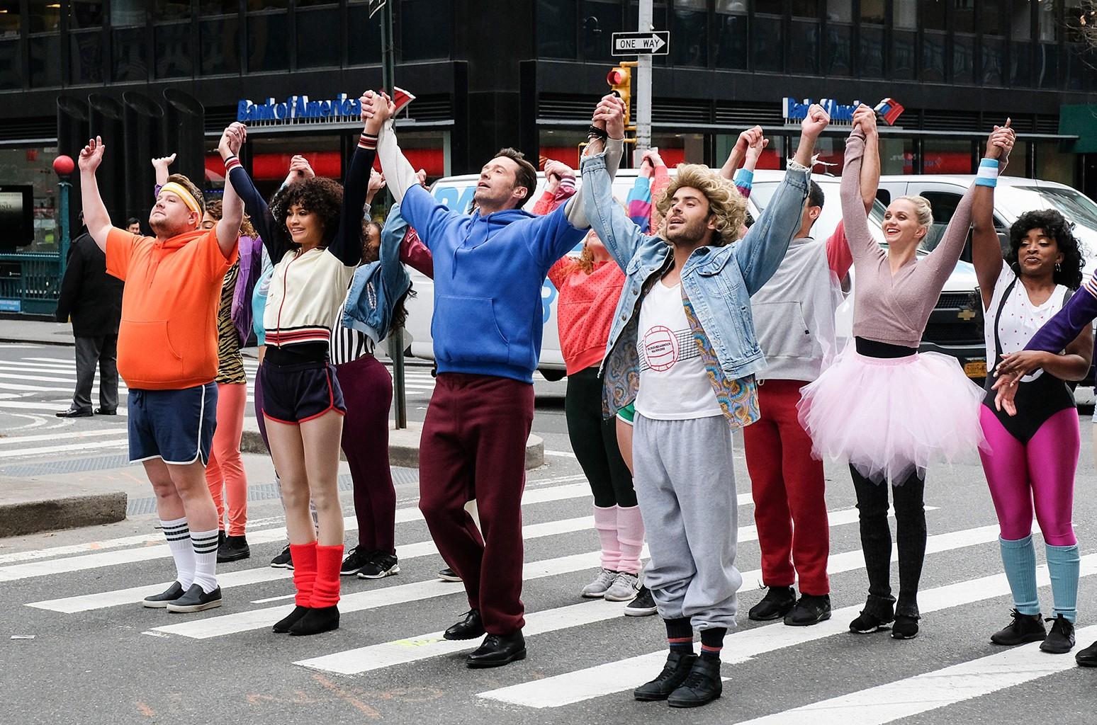 James Corden Crosswalk Musical