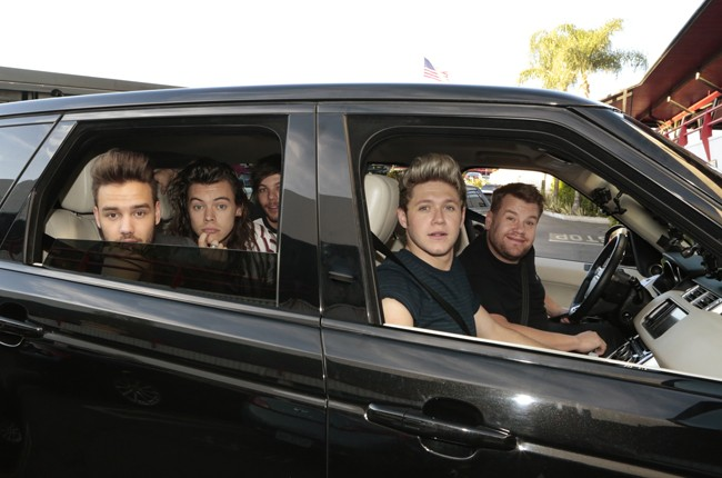 "One Direction joins James Corden for Carpool Karaoke on ""The Late Late Show with James Corden"""