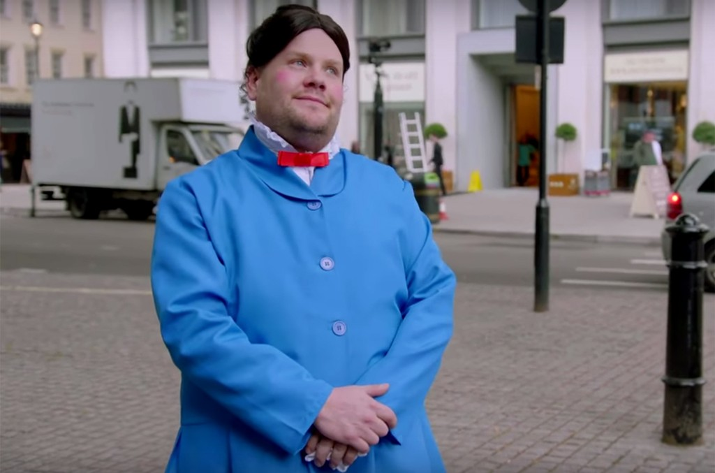 James Corden in Crosswalk the Musical: Mary Poppins