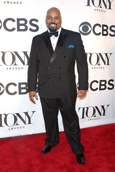 James Monroe Iglehart attends the 68th Annual Tony Awards