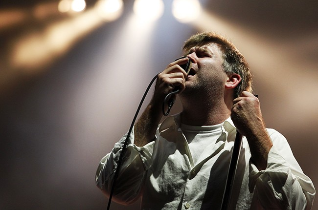 James Murphy of LCD Soundsystem performs in 2010