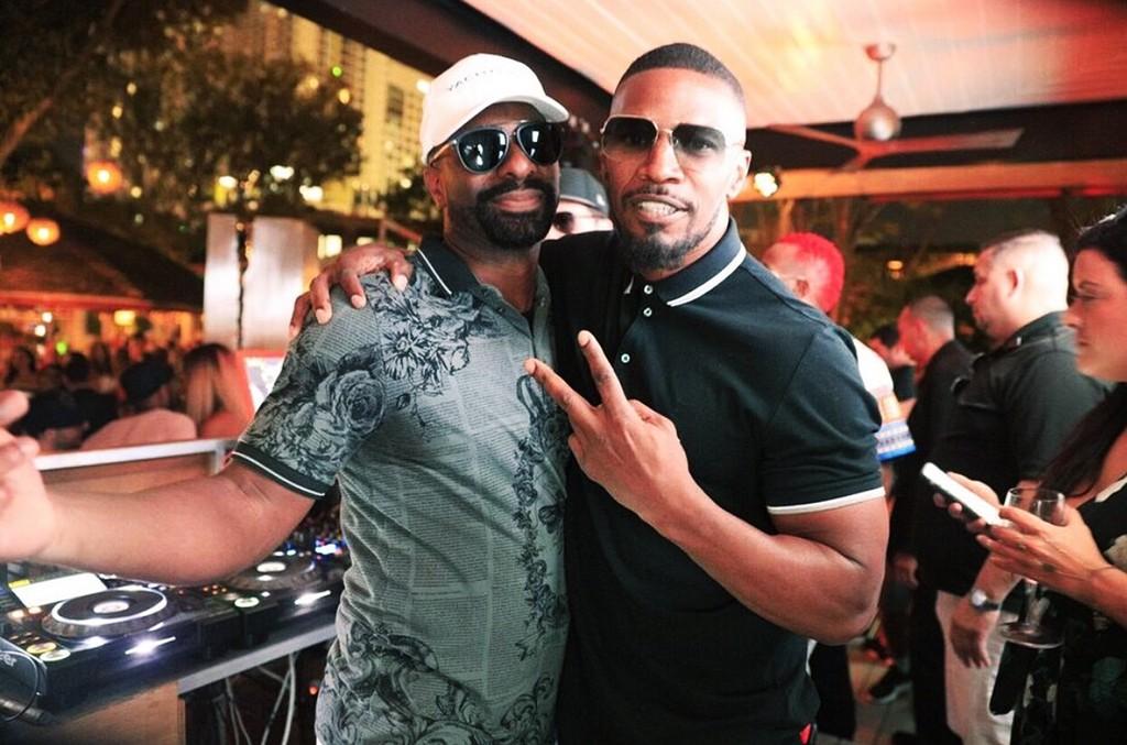 DJ Irie & Jamie Foxx