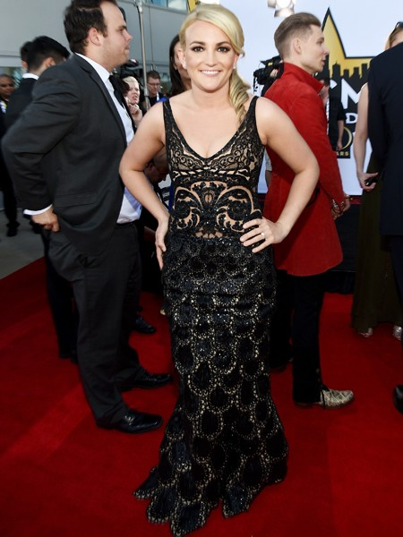Jamie Lynn Spears attends the 50th Academy Of Country Music Awards