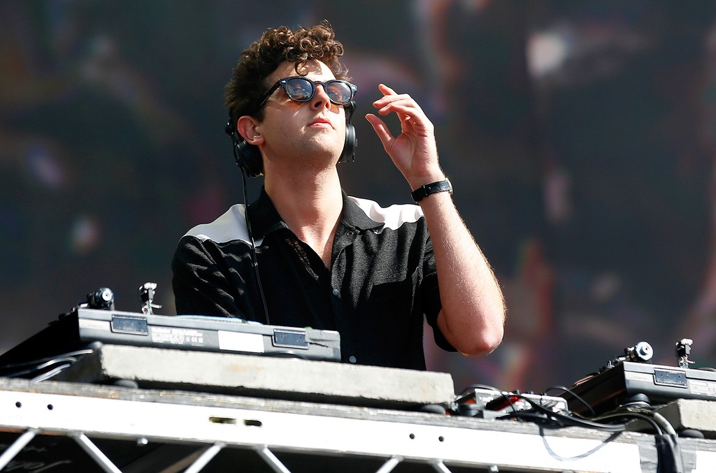 Jamie xx performs at Hyde Park on July 2, 2016 in London.
