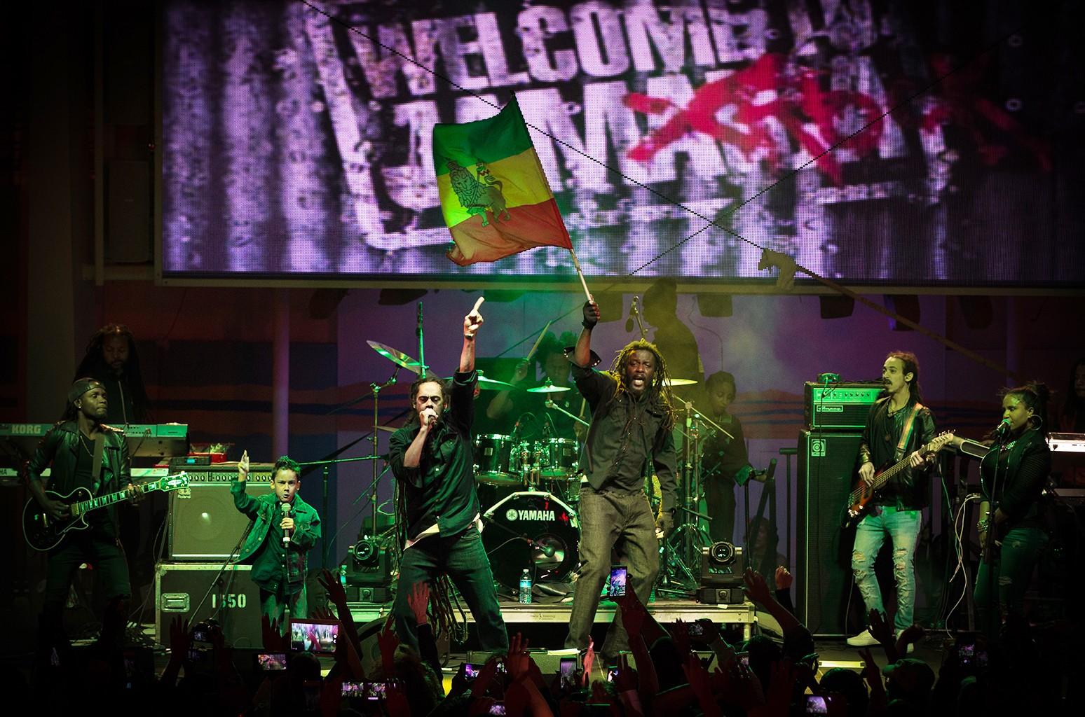 Jamrock Reggae Cruise 2016.