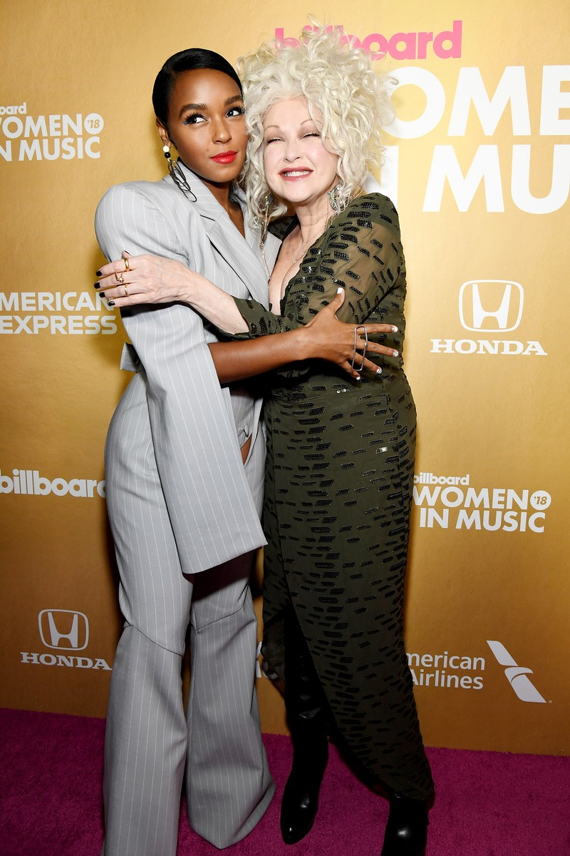 Janelle Monaé and Cyndi Lauper