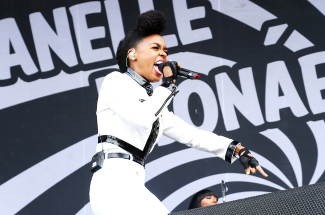 Janelle Monae at Governors Ball