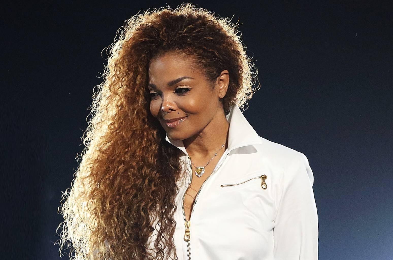 Janet Jackson performs during the 2015 BET Awards