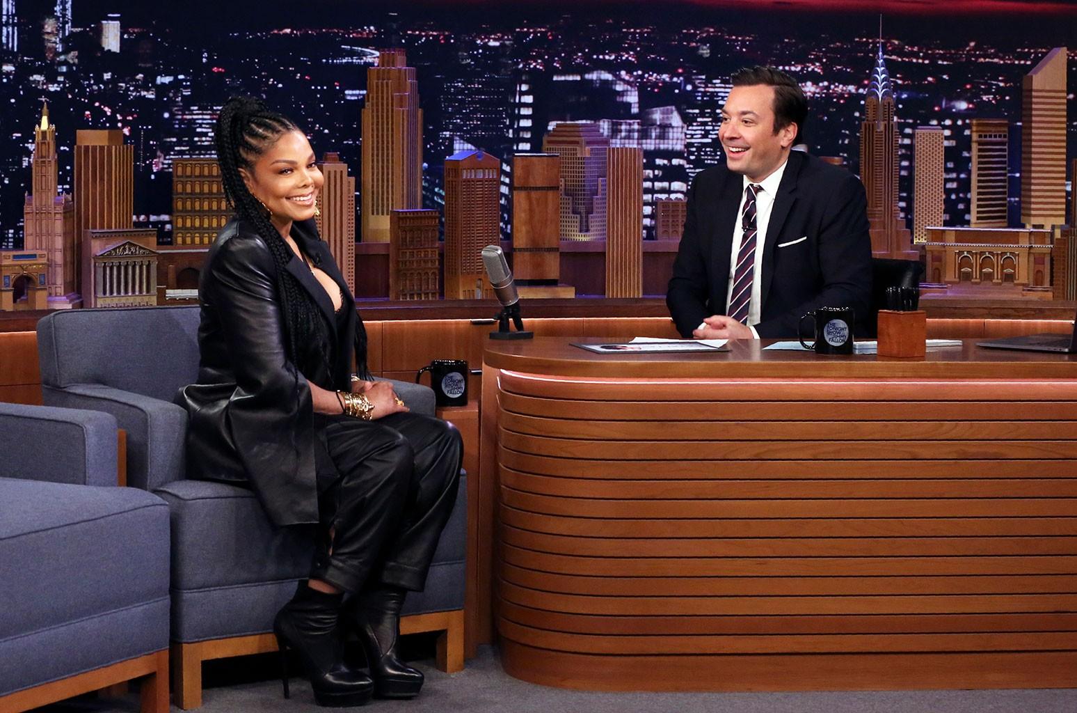 Janet Jackson Tonight Show