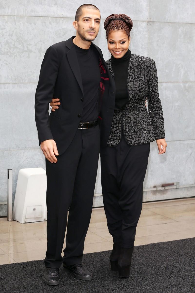 Wissam al Mana & Janet Jackson, 2013