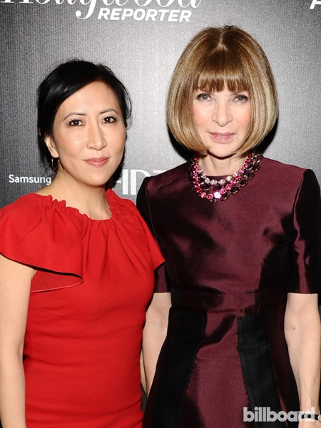 Janice Min and Anawintour attend The 35 Most Powerful People in Media hosted by The Hollywood Reporter