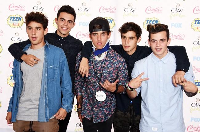 The Janoskians attend FOX's 2014 Teen Choice Awards