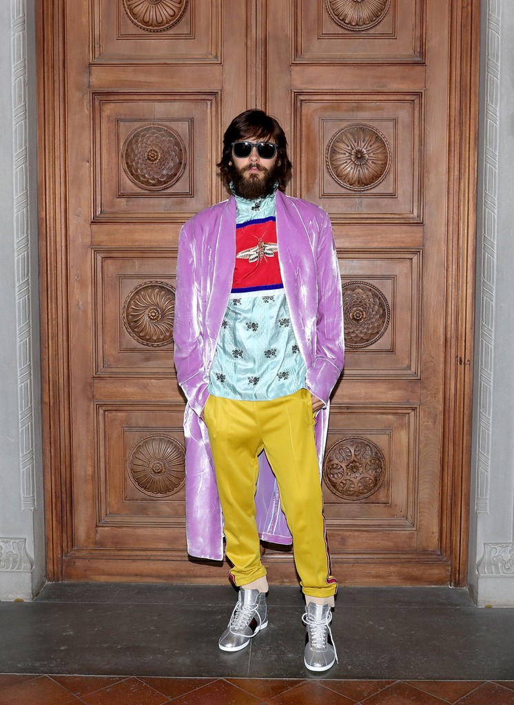 Jared Leto attends the Gucci Cruise 2018 After show party at Serre Torrigiani on May 29, 2017 in Florence, Italy.