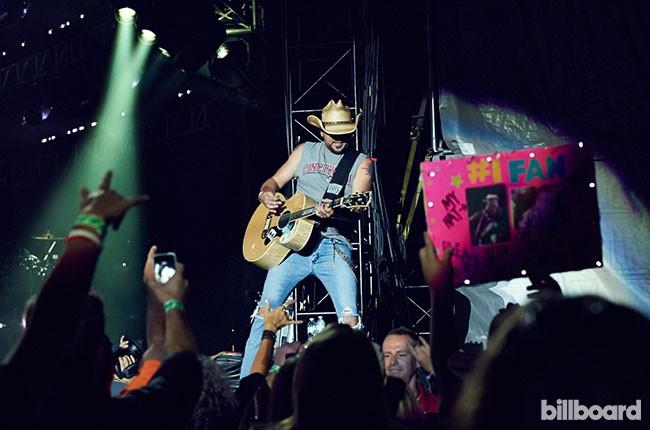 Jason Aldean, Billboard 2014.