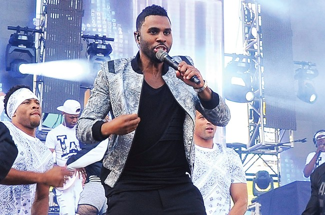 Jason Derulo performs at the 102.7 KIIS FM's Wango Tango 2015