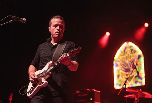 Jason Isbell performs at Tuscaloosa Amphitheater