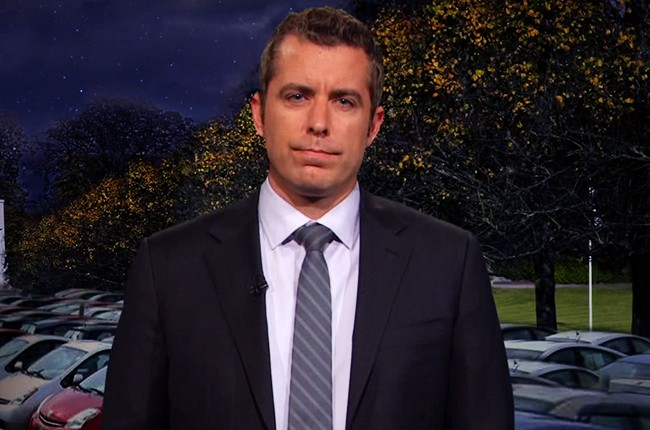 Jason Jones on The Daily Show