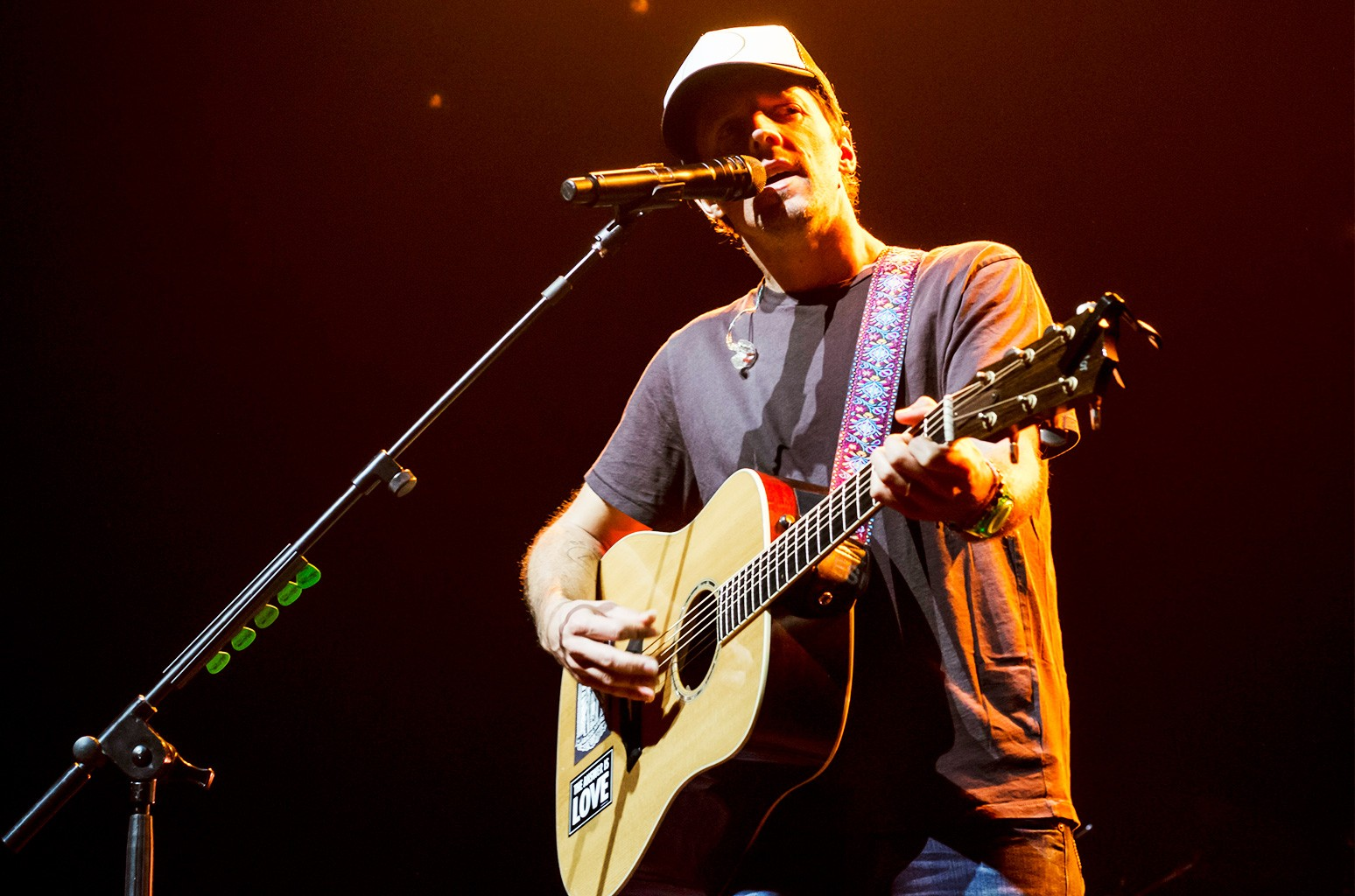 Jason Mraz performs during a show at Citibank Hall on Jan. 26, 2017 in Sao Paulo, Brazil.