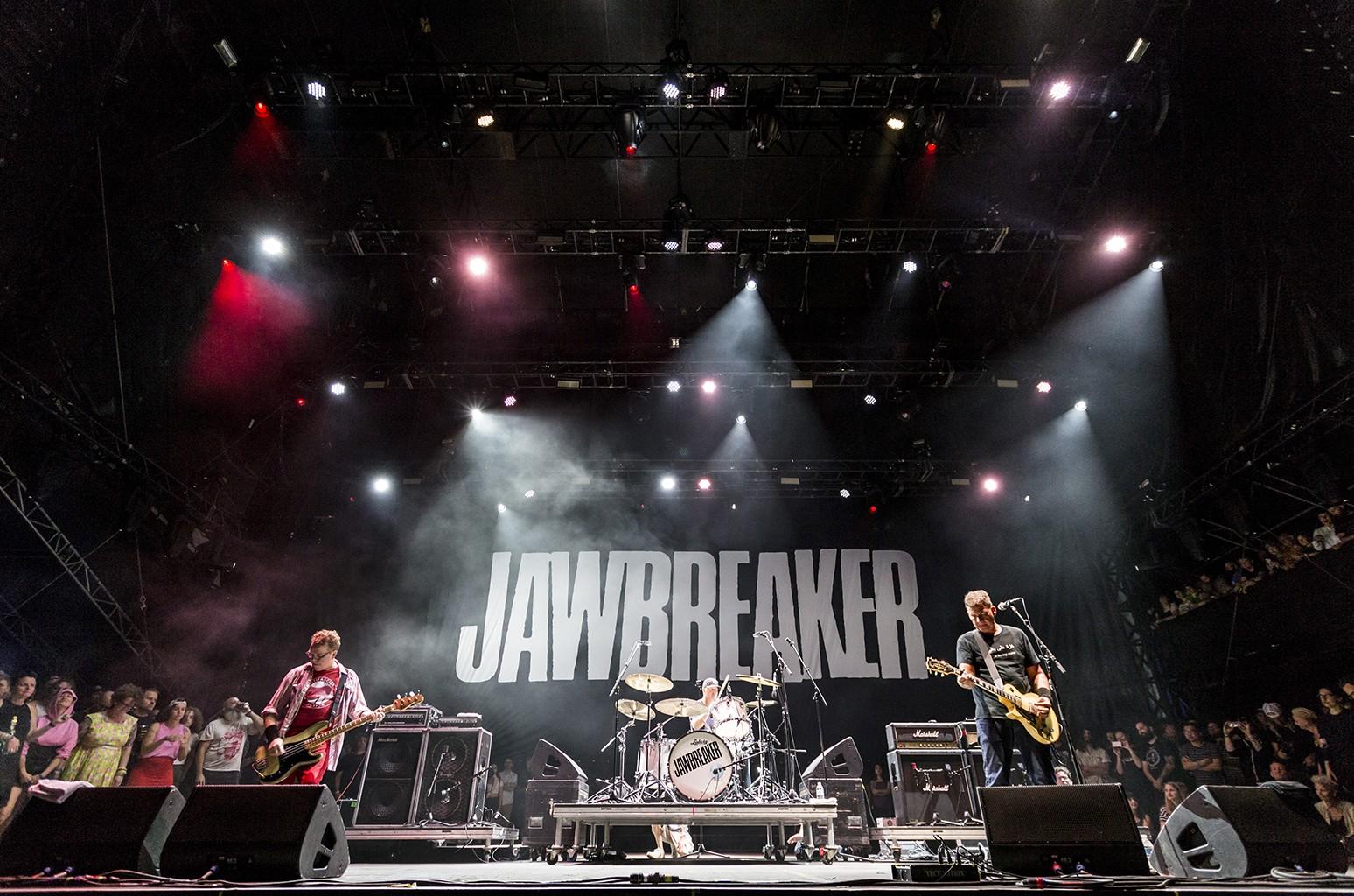 Jawbreaker perform at Riot Fest in Chicago