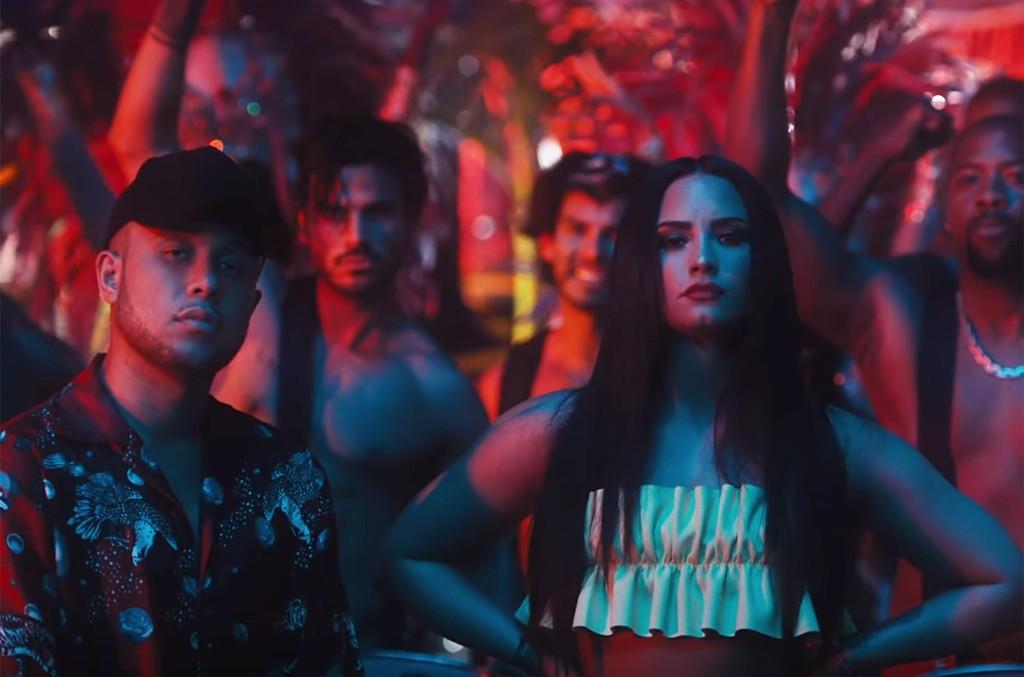 "Jax Jones featuring Demi Lovato and Stefflon Don, ""Instruction"""