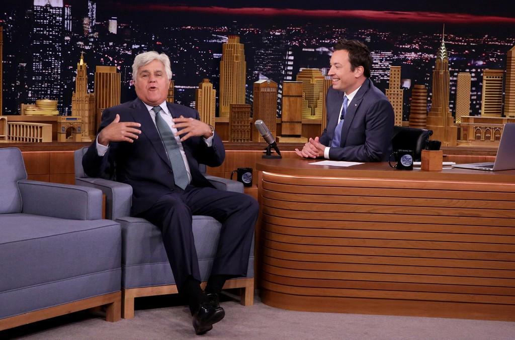 Jay Leno on The Tonight Show Starring Jimmy Fallon