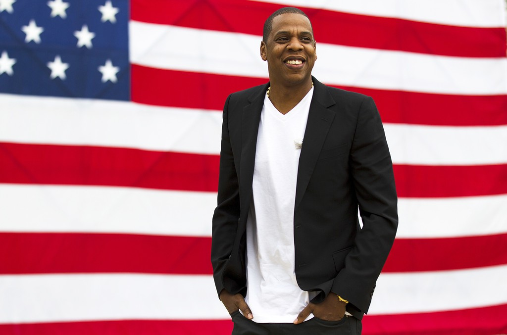 Jay-Z photographed at the Philadelphia Museum of Art in Philadelphia on May 14, 2012.