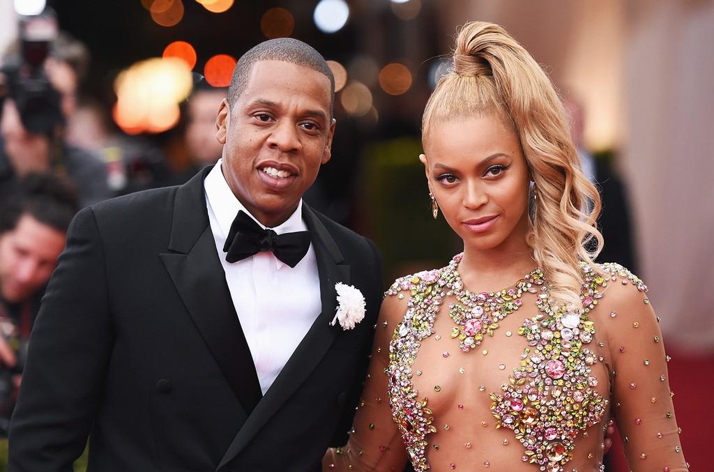 Jay Z and Beyonce at 2015 Met Gala