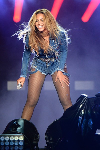 Beyonce during On The Run Tour