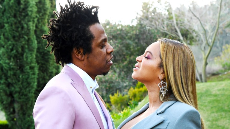 Jay Z Beyonce On Their Biggest Loudest Protest Of All At The Super Bowl This Week In Billboard News Billboard