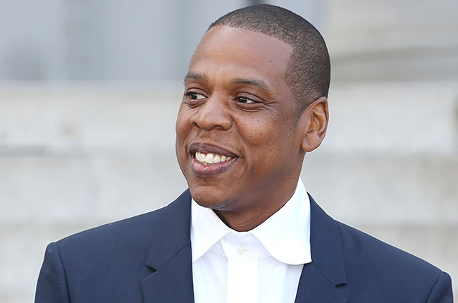 Jay Z in LA for 2014 Made In America Announcement